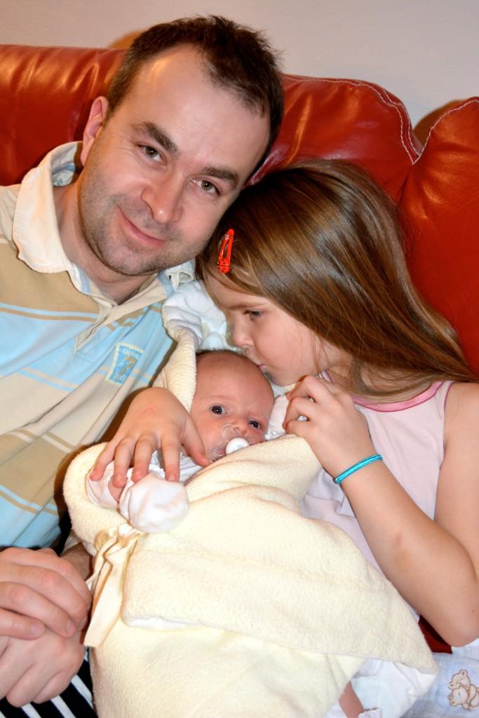 Narodenie svojich detí považuje Ján Podmanický za zázrak. (Foto: archív)