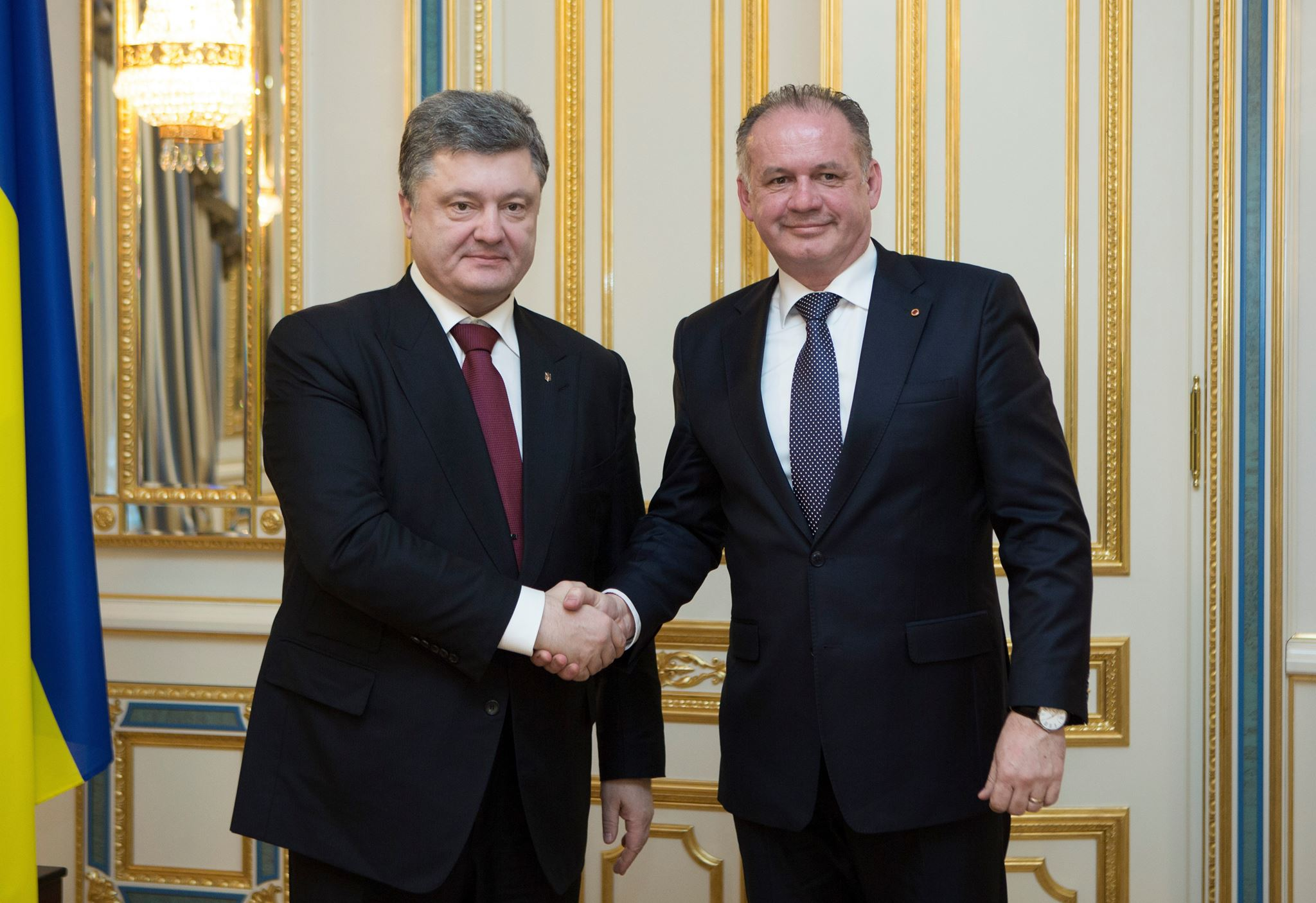 Prezident Kiska sa svojho ukrajinského náprotivka neopýtal, prečo sú dvaja slovenskí občania na zozname nežiaducich osôb. (Foto: archív)
