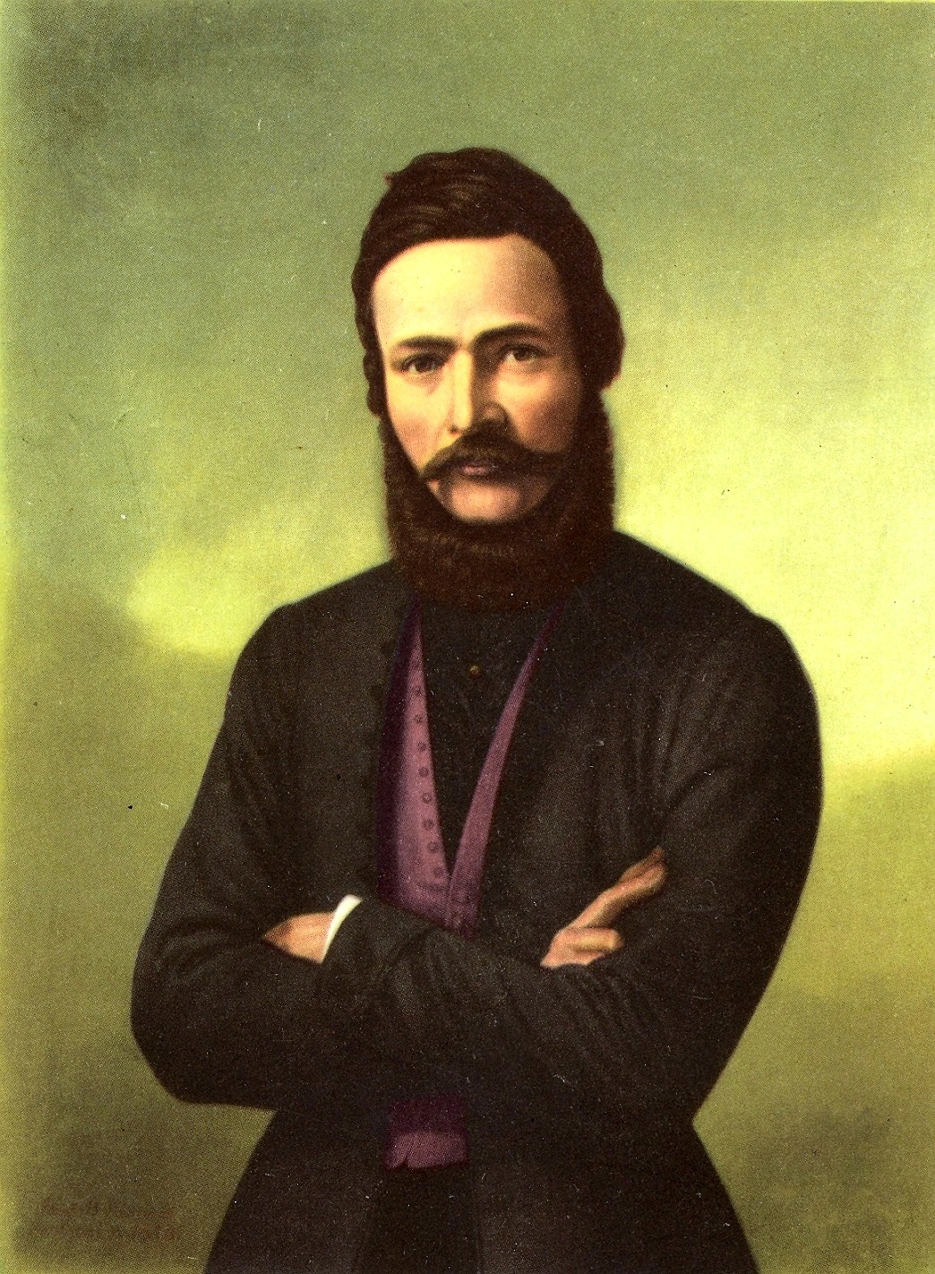 Najznámejší portrét otca spisovnej slovenčiny. (Reprofoto: archív)
