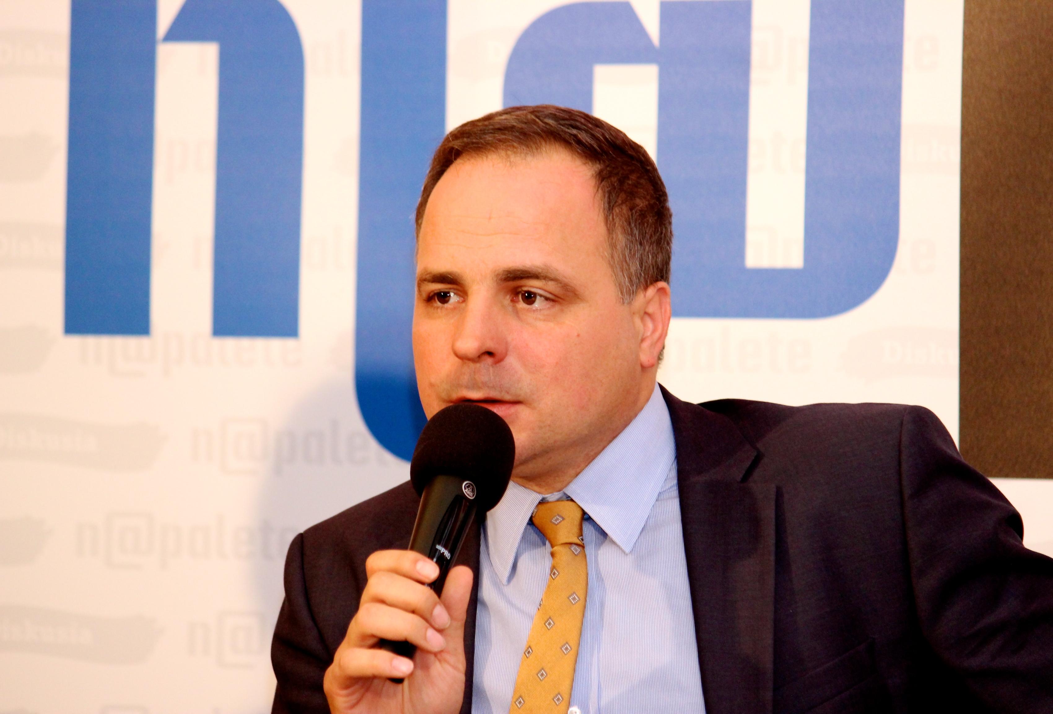 Podpredseda Zahraničného výboru NR SR Juraj Droba. (Foto: Michaela Kolimárová)