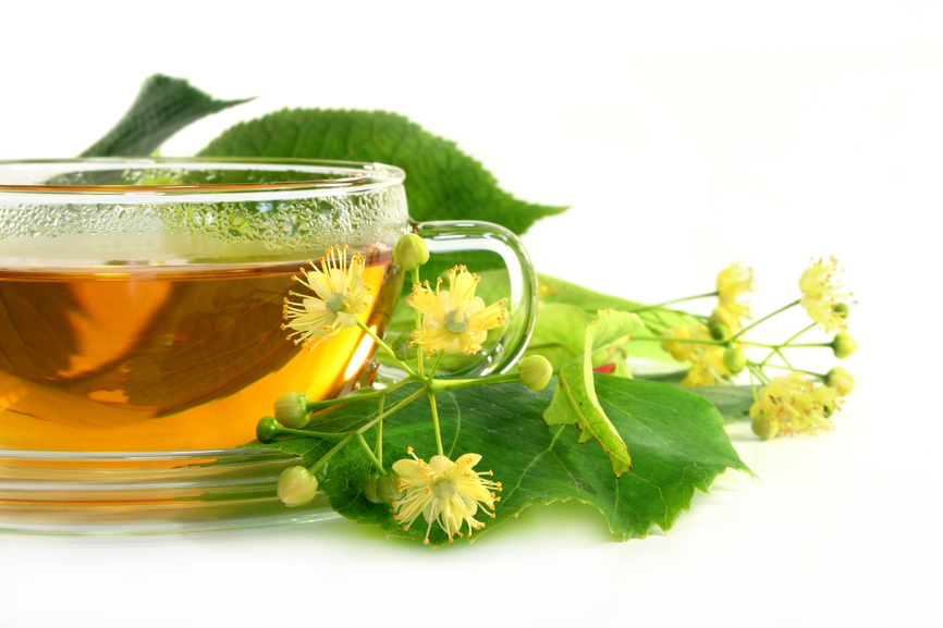 Linden flower tea