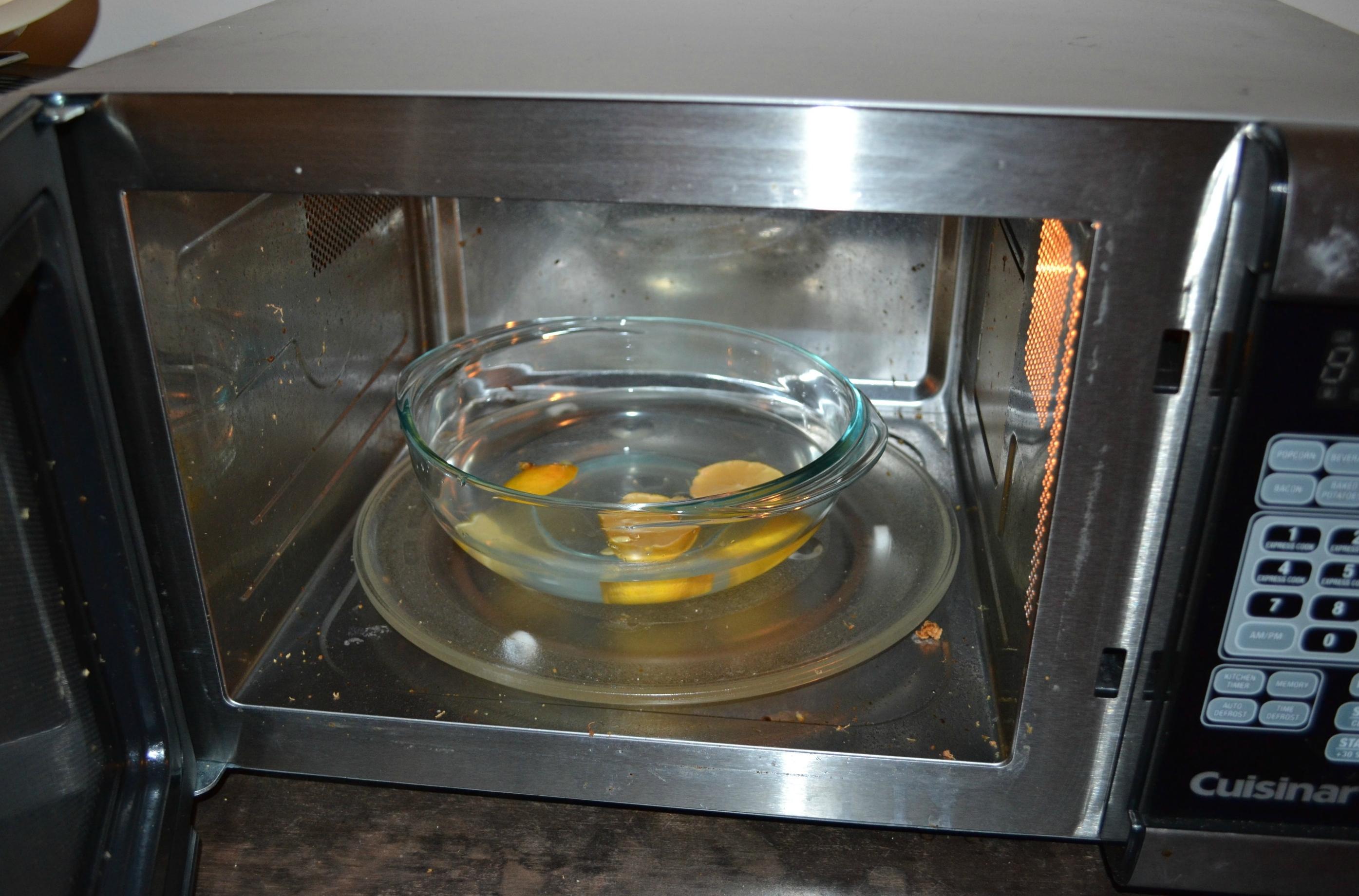 Как очистить микроволновку в домашних условиях от жира
