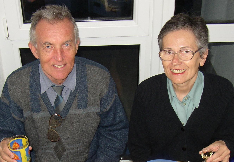 Roman Hofbauer s manželkou. (Foto: Pavel Kapusta)