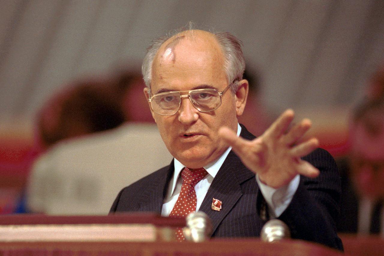 Michail Gorbačov. (Foto: archív)