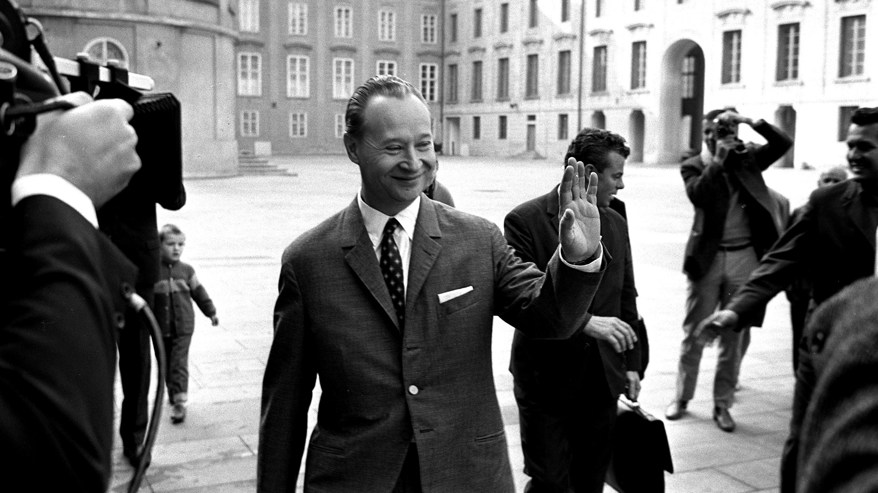 Alexander Dubček bol koncom 60. rokov neobyčajne populárnym politikom. (Foto: archív)
