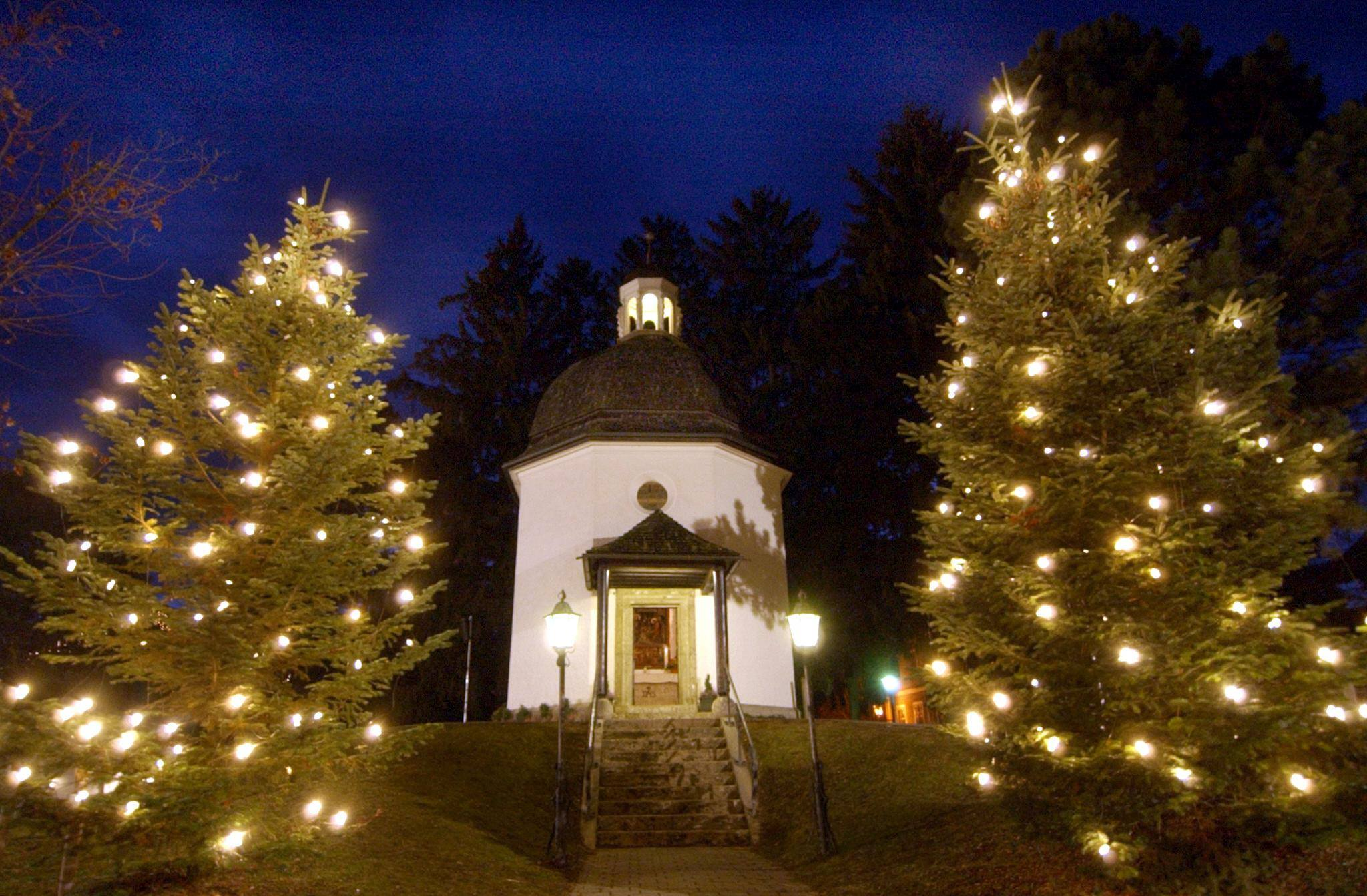 Kaplnka v rakúskom Oberndorfe, kde vznikla pieseň Tichá noc. (Foto: archív)