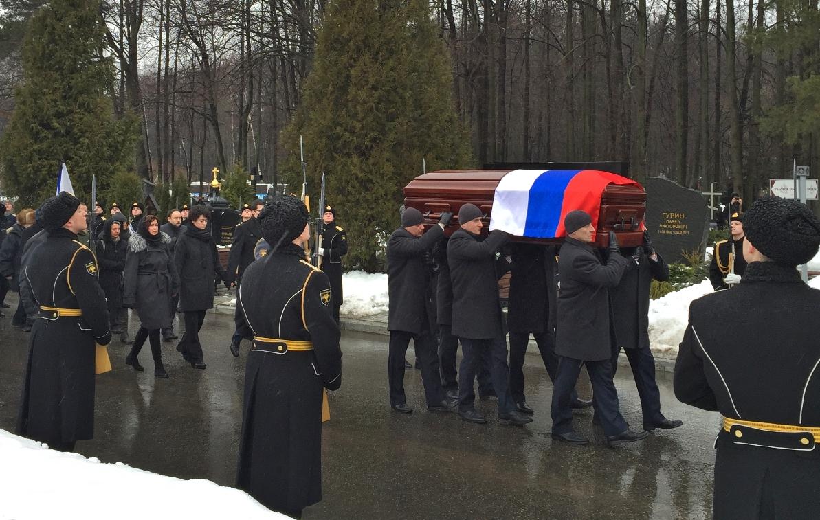 Pohreb Vitalija Čurkina. (Foto: archív)