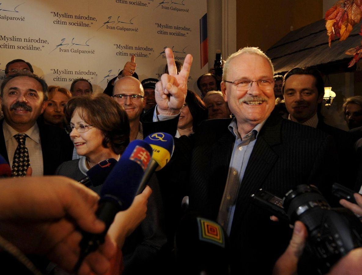 Spomienka na druhé volebné víťazstvo v roku 2009. (Foto: archív)