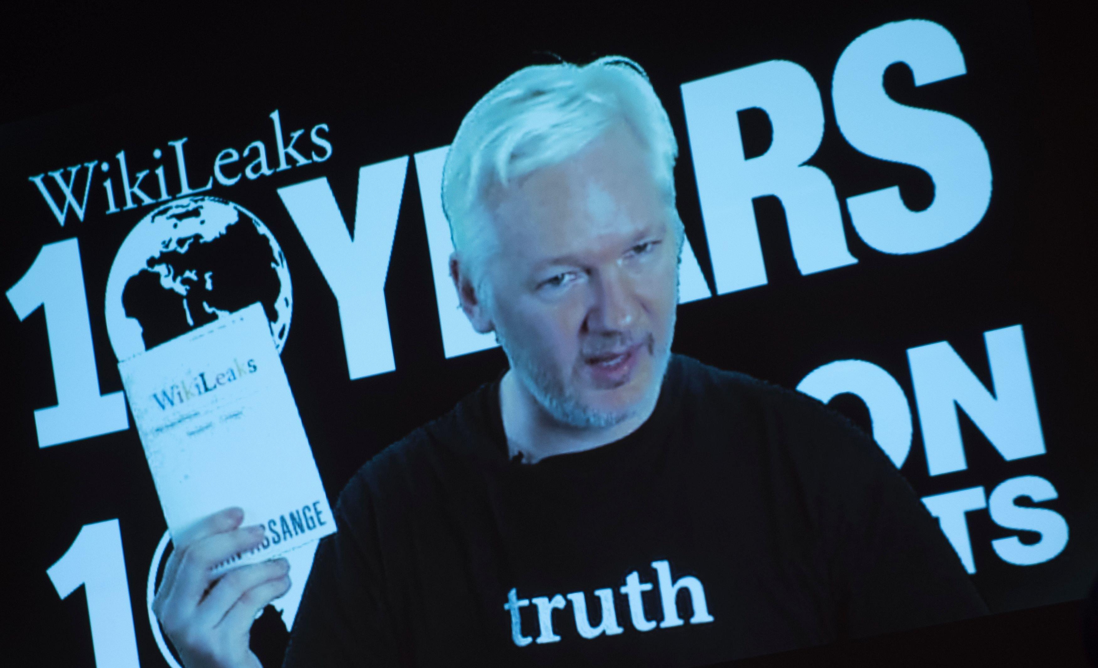 Zakladateľ WikiLeaks Julian Assange. (Foto: archív)