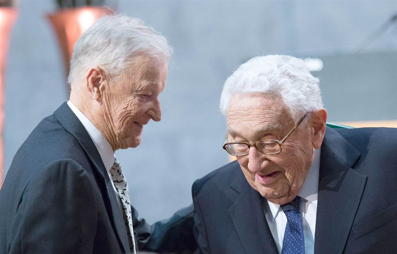 S Henrym Kissingerom. (Foto: archív)