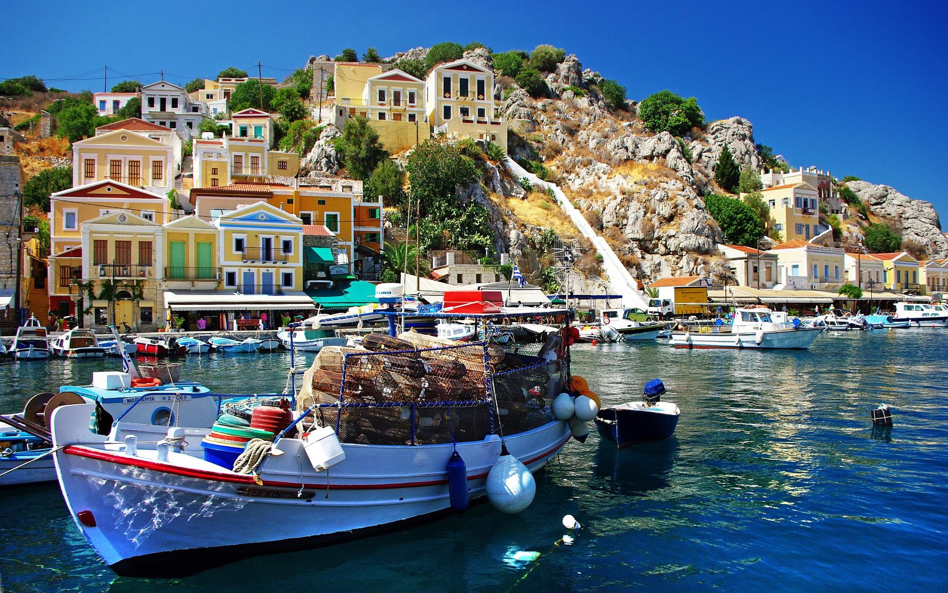 Čarokrásne Grécko (Santorini).