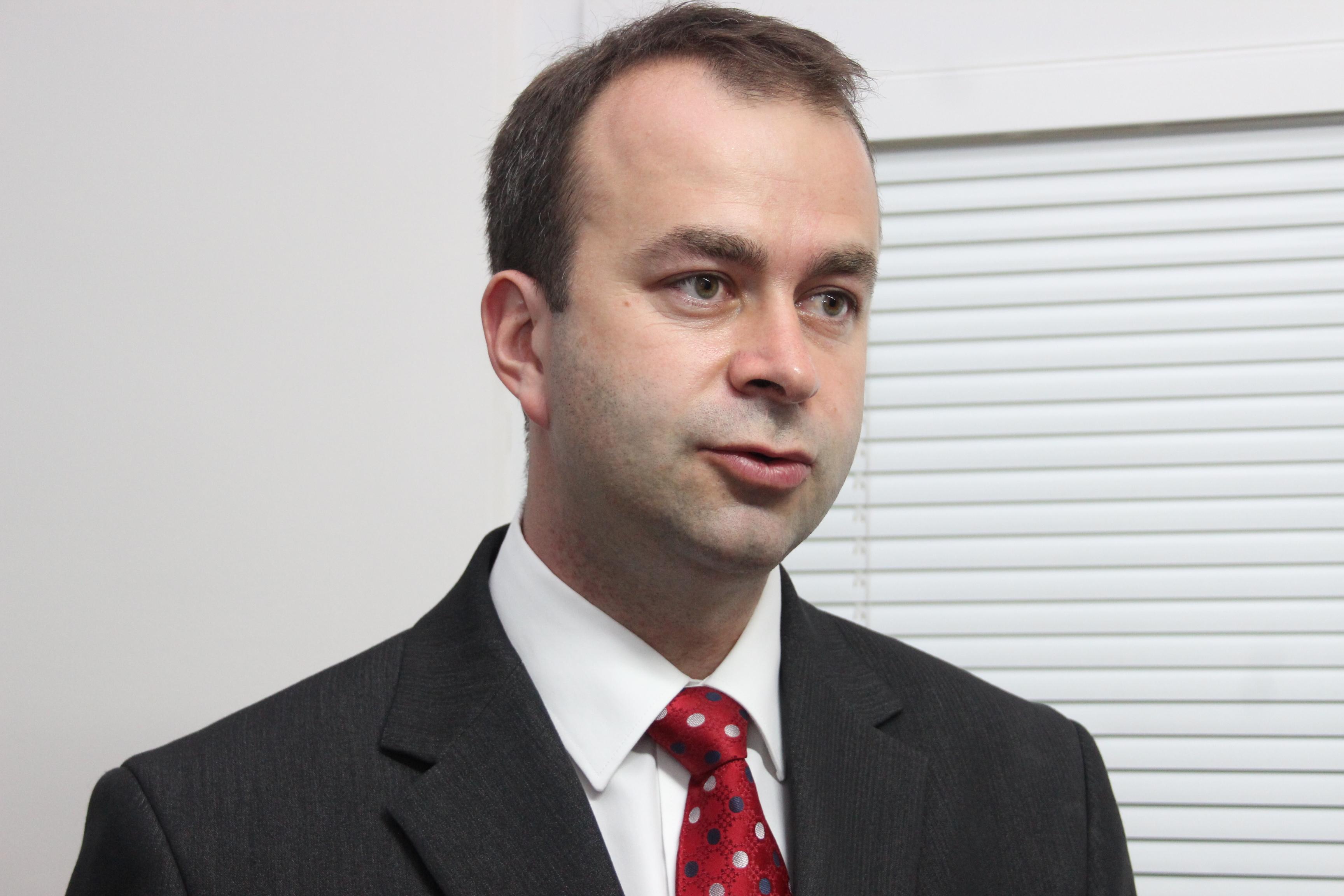 Poslanec NR SR Ján Podmanický. (Foto: Michaela Kolimárová)