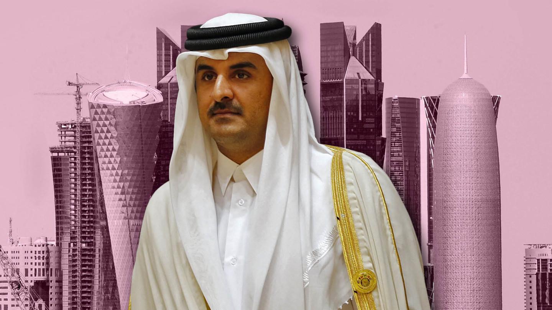 Katarský emir Hamad bin Chalífa Sání . (Foto: archív)