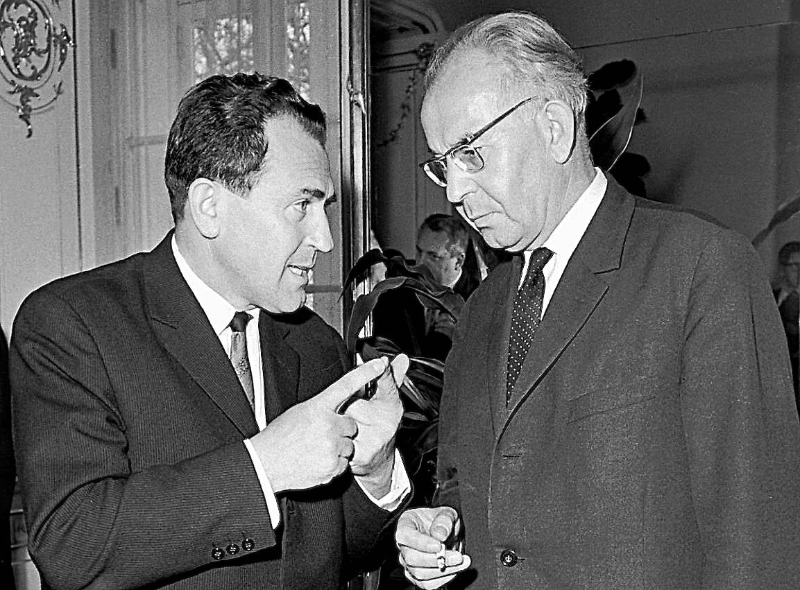 S generálnym tajomníkom ÚV KSČ a prezidentom ČSSR Gustávom Husákom. (Foto: archív)