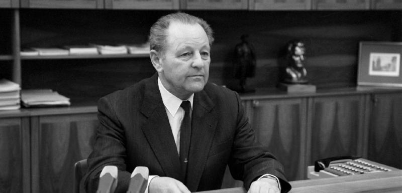 Milos Jakeš v čase, keď bol vrcholovým predstaviteľom komunistickej moci v ČSSR.(Foto: archív)