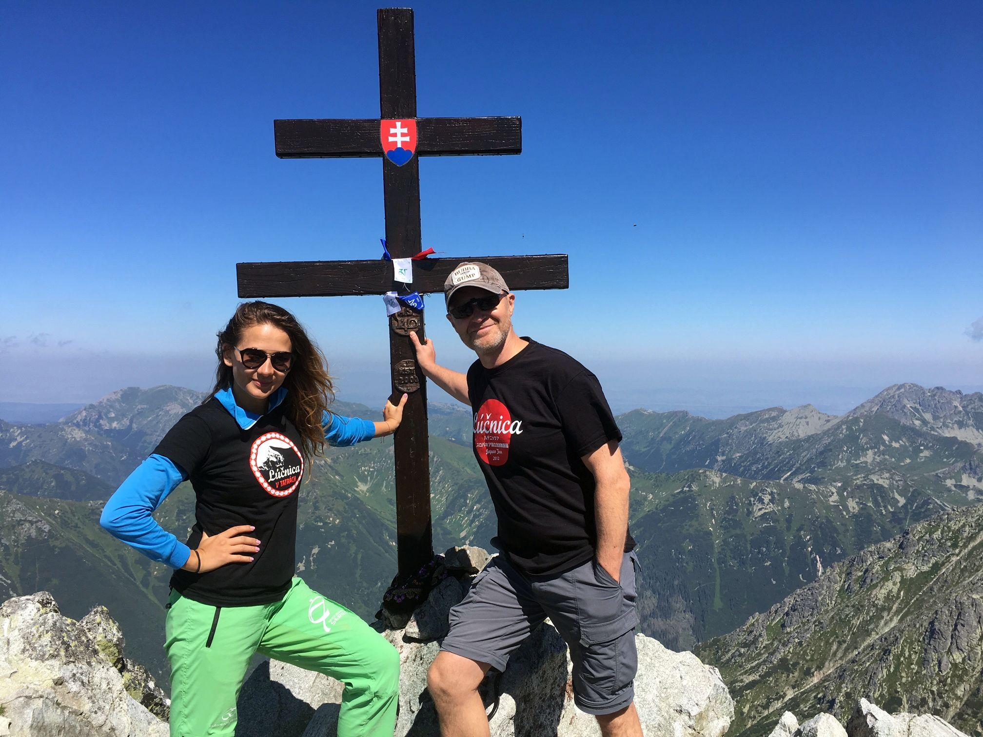 Momentka z vrcholu Kriváňa. (Foto: archív)