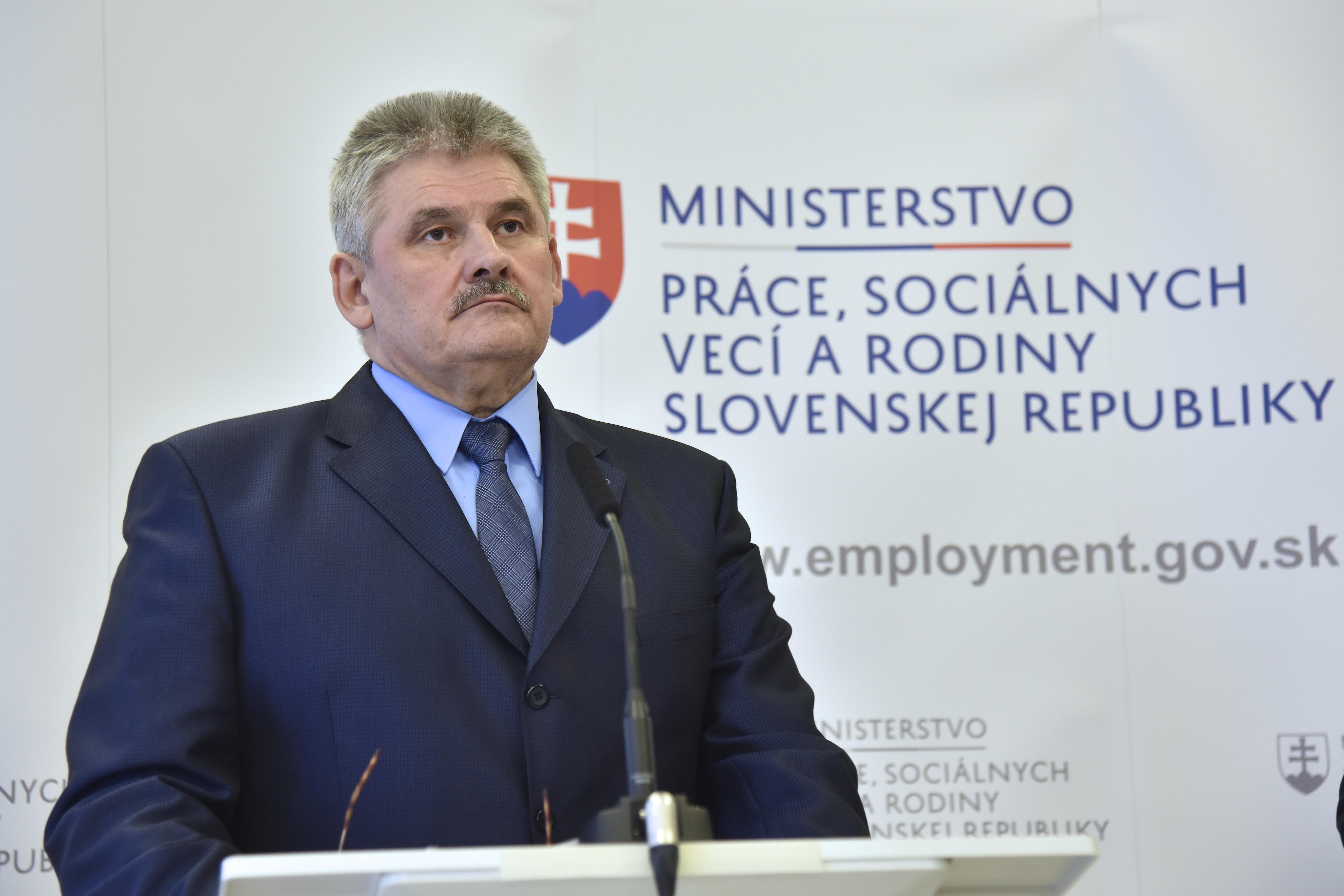 Minister Ján Richter. (Foto: archív)