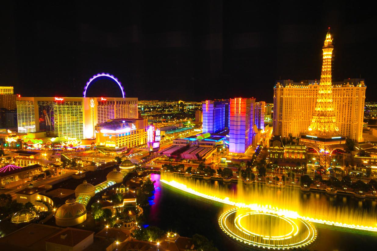 Las Vegas - hlavné mesto  hazardu. Navštívil ho Kiska počas pracovnej cesty hradenej z peňazí daňových poplatníkov? (Foto: archív)