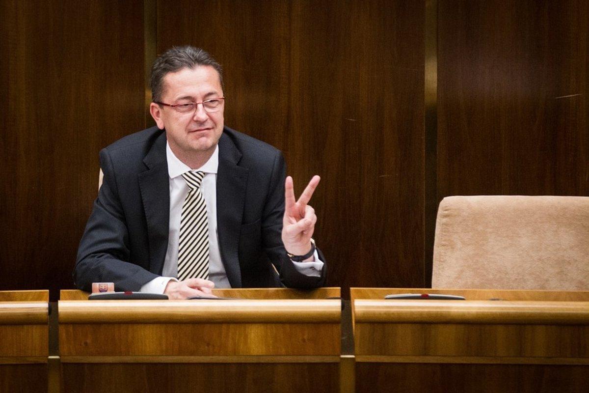 Šéf poslaneckého klubu Smeru-SD Martin Glváč. (Foto: archív)